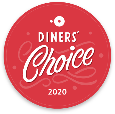 Adams Cafe - winner of Open Table Diners Choice Award 2020